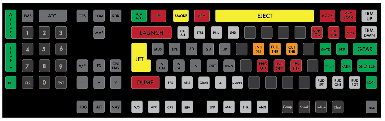 Possibly the Ultimate Keyboard for Flight Sim - Hardware